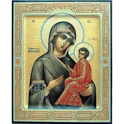Икона Богоматерь Тихвинская