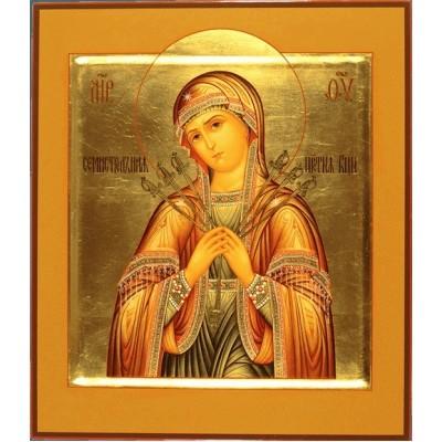 Икона Семистрельная Пресвятая Богородица