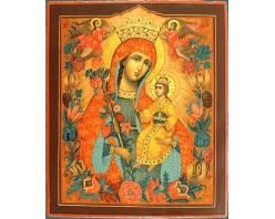 Икона Богоматерь Неувядаемый Цвет