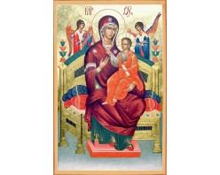 Икона Богоматерь Всецарица