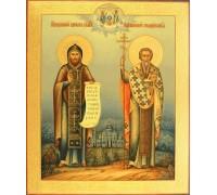 Икона Кирилл и Мифодий