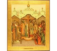 Икона Крестовоздвижение (Воздвижение Креста Господне)