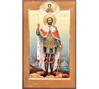 Мерная (ростовая) Икона Александр Невский