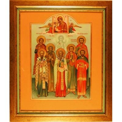 Икона Собор Пантелеймонов Целителей