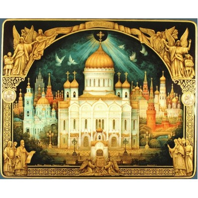 Шкатулка Храм Христа Спасителя