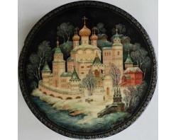 """Лаковая миниатюра """"Ипатьевский монастырь"""""""