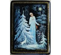 """Лаковая миниатюра """"Рождественская ночь"""""""