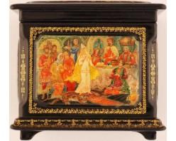 Лаковая миниатюра Царская невеста ларец