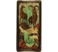 "Лаковая миниатюра ""Горные бараны"""