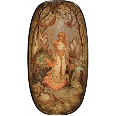 "Лаковая миниатюра ""Весенний лес"""
