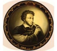 """Лаковая миниатюра """"А.С. Пушкин. 200 лет"""""""